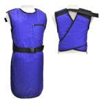 9002 - Apollo, lead apron, Medium blue