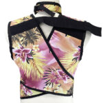 Premium Apron 9004 - Zeus Back view with a matching set of 223 Thyroid Shield, lead apron
