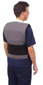 cool vest back model