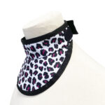 220 Thyroid Shield Pink Leopard 3:4 view
