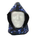 503 Lead Hoodie, Blue Flame, Front View