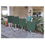 m-458 Adjustable Mobile Barrier